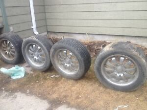 17 inch rims with tires for sale