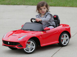 FERRARI F12 ELECTRIC RIDE-ON TOY CAR