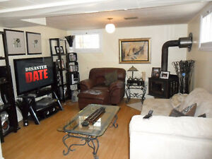 One Bedroom Basement Suite Avail Apr 1st - Utilities Included