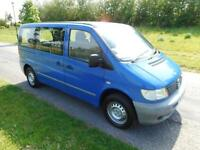 2002 52 Mercedes-Benz Vito 2.2 TD Only 88k SOLD AS SPARES OR REPAIRS ONLY