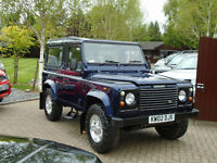 2002 Land Rover DEFENDER 90 County 2.5 TD5 6 Seater (18,000 MILES !!)