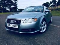 Audi A4 Cabriolet 2.0TDI 2006 S Line FSH ONLY 74K