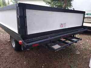 "Dbl. Wide Sled or Quad deck trailer 3500lb ..15in  rims..2""ball"
