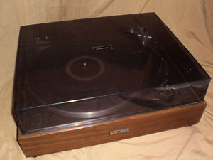 Pioneer PL-12D Turntable with Shure M93E and PSB IMAGE Speakers