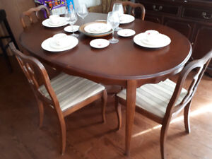 Dining Room Table and Table Set