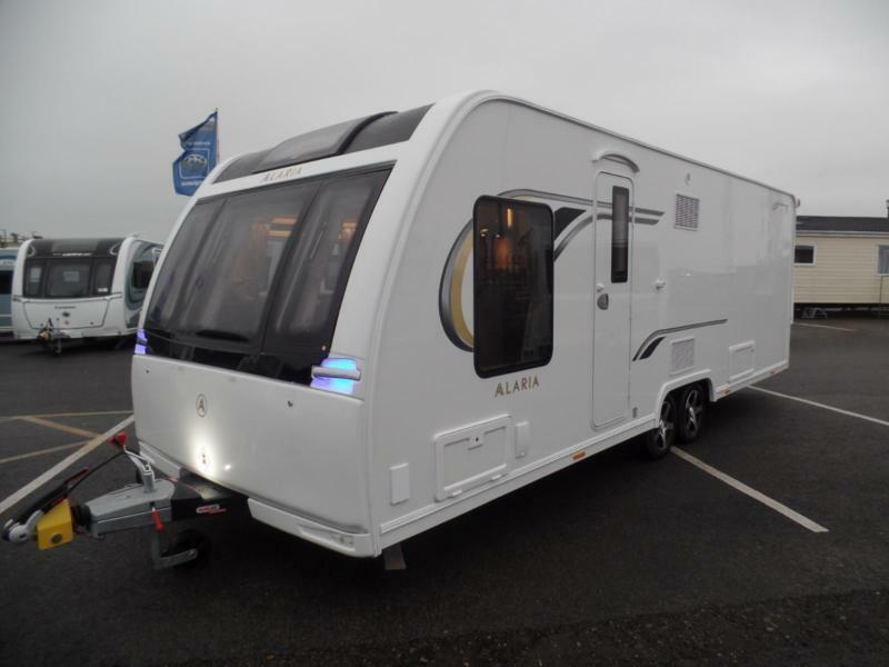 2018 Lunar Alaria TI 8ft WIDE T/A TOURER OF THE YEAR AWARD REDUCED BY £3129 WOW!