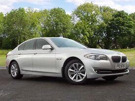 BMW 5 SERIES 2.0 520d SE 4dr (silver) 2011