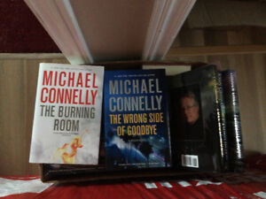 Hard Cover Books: Connelly, Grisham, Child