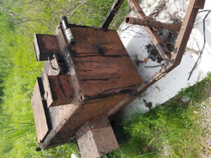 Tar kettle and roofing stuff for sale