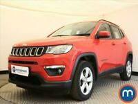 2019 Jeep Compass 1.4 Multiair 140 Longitude 5dr [2WD] CrossOver Petrol Manual