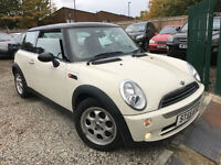 ✿55-Reg Mini Mini 1.6 Cooper WHITE✿ LOOKS GREAT✿