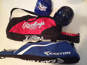 kids ball bags and helmets