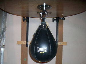 Speed bag.