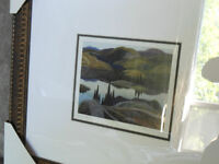 Group of Seven, Franklin Carmichael Beautiful Print, Mirror Lake