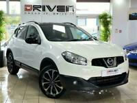 STUNNING WHITE 2013 NISSAN QASHQAI 1.5 DCI 360CAMERA+FREE DELIVERY TO YOUR DOOR