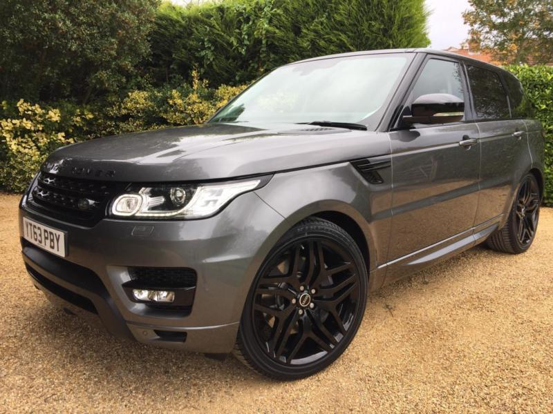 "LAND ROVER RANGE ROVER SPORT 3.0 SDV6 HSE AUTOBIOGRAPHY LOOKS 22"" ALLOYS"