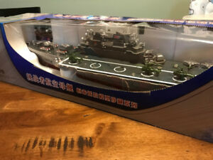 Radio Controlled Aircraft Carrier Boat