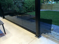 Glass Railings, Glass Office Partitions, Custom Glass Placements