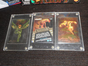 vintage marvel toys and collector hollofoil cards Kingston Kingston Area image 2