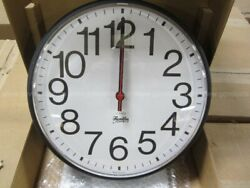 FRANKLIN 12 ATOMIC RADIO CONTROLED ANALOG WALL CLOCK