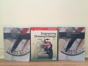 Engineering drawing and design with workbook Sheridan college