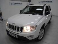 Jeep Compass CRD LIMITED 4WD + 5 SERVICES + 4X4