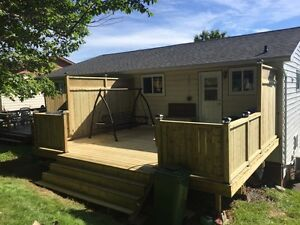 Deck building and odd jobs