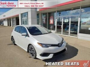 2018 Toyota Corolla iM CVT  - Certified - Heated Seats - $144.66
