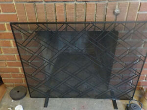 Beautiful fireplace screen