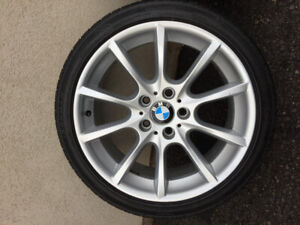 18' bmw rims and tire