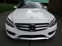 2015 Mercedes-Benz C-400 4matic (awd)