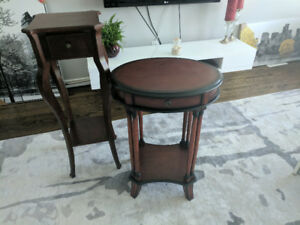 Plant stands and corner accent Table