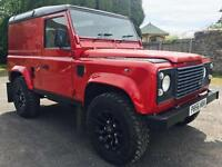 1996 Land Rover Defender 90 300tdi County, Sawtooth alloys with new tyres!