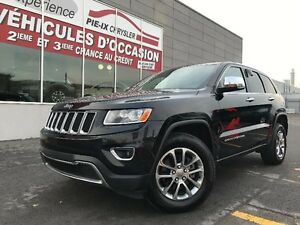 Jeep Grand Cherokee 4WD 4dr Limited+CUIR+TOIT+MAGS+WOW! 2015