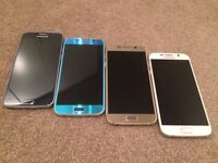"Samsung S6, All Colours, 32gb, Factory Unlocked, Mint Condition ""TRUSTED SELLER"" Only £240 Each"