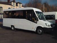 MERCEDES SPRINTER 17 SEAT WELFARE BUS COIF DIGITAL TACHOGRAPH PSV NO VAT