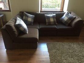 Next corner unit sofa