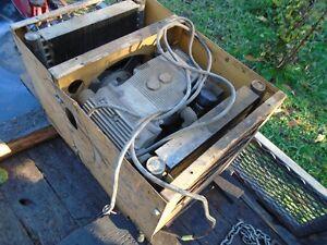hydraulic driven air compressor truck mount