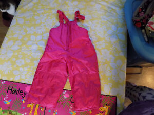 Girls Snow pants, Sz 2