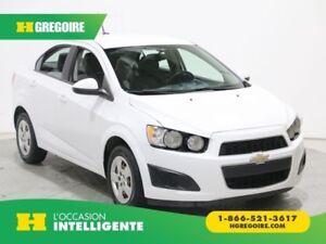 2014 Chevrolet Sonic LS MANUELLE BLUETOOTH