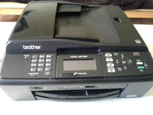Imprimante, scanner, fax , photocopie brother mfc j615w couleur