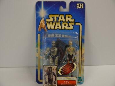 78 ) Star Wars - C-3PO Protokolldroide C-001C auf Karte 84856 Hasbro 10  gebraucht kaufen  Berlin