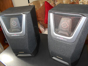Panasonic 2way 3D Space Sound Speaker Set for sale