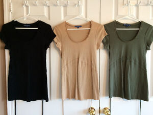 Maternity Tops in sizes Small - Medium (Excellent Condition)