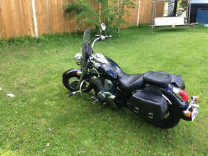 Motorcycle (Honda Shadow American Classic Edition)