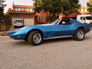 1973 Corvette - Stingray, The Big Block 454,