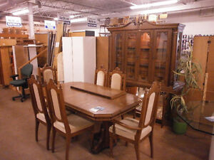 Dining Table & China Cabinet - Goderich ReStore