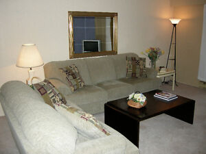 LARGE TWO BEDROOM FULLY FURNISHED SUITE