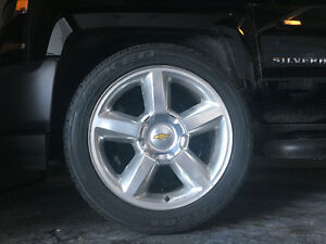 GM Truck rims and tires