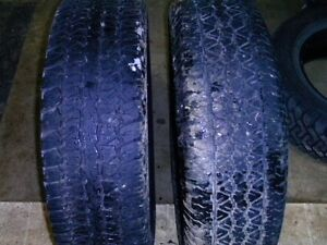 for sale two tires size 235\75\r15